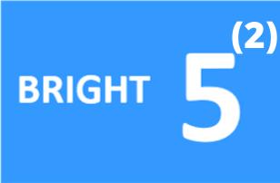 Logo Bright5 kwadraat