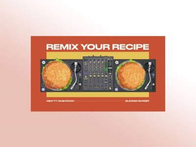 Mushroom Council's new ad campaign encourages consumers to remix their burger recipes