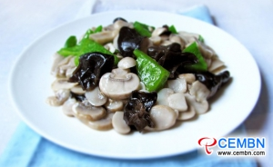 Recipe: Mushrooms with green pepper