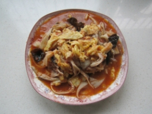 Rezept: Rührei mit Tomaten und Austernpilzen