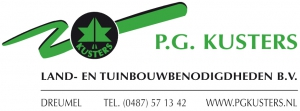 We welcome our new advertiser P.G. Kusters B.V.