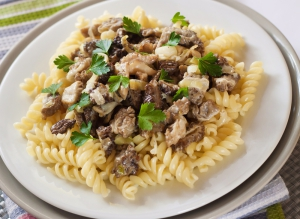 Pasta with Morel - springtime celebration